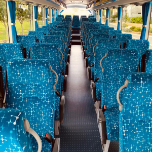 Yutong D12 54-seater interior